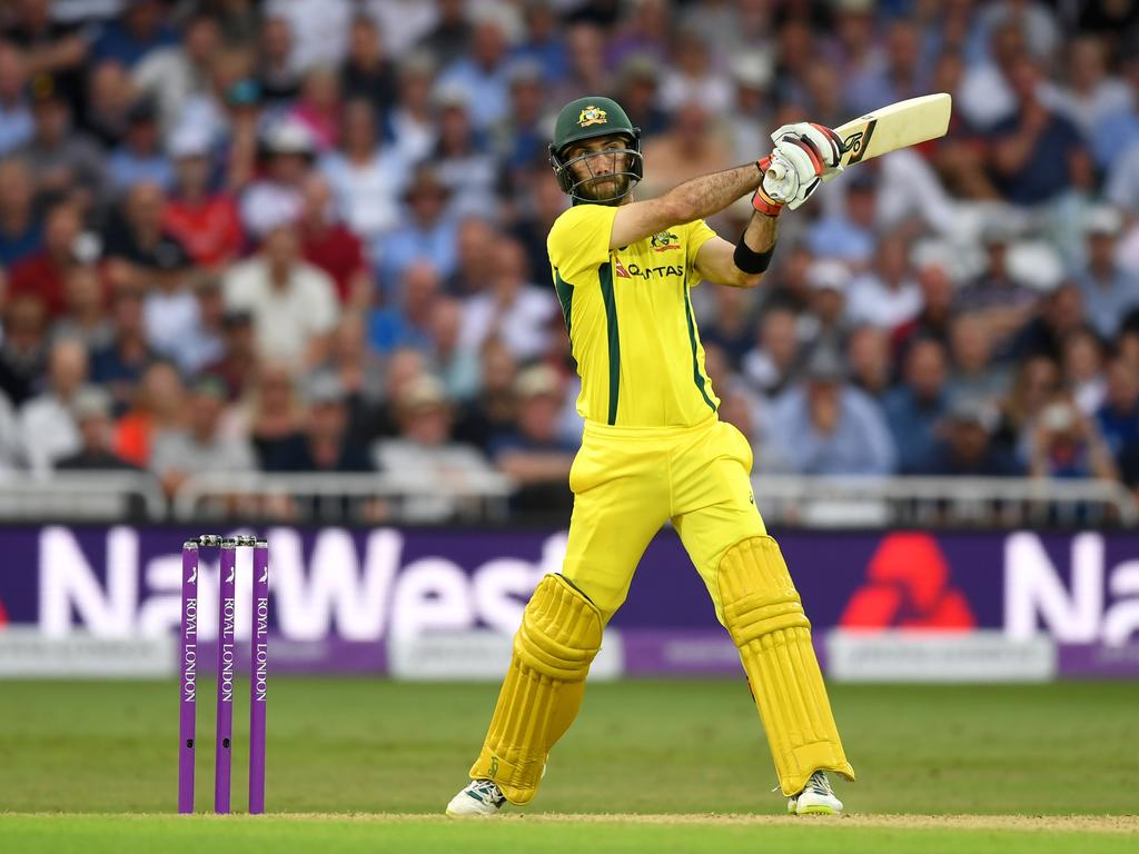 "Maxwell said Australia ""didn't really have any answers"" during the entire ODI series."
