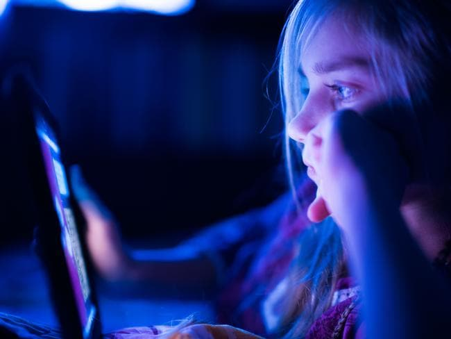 Online child grooming is a very real concern. Picture: Getty