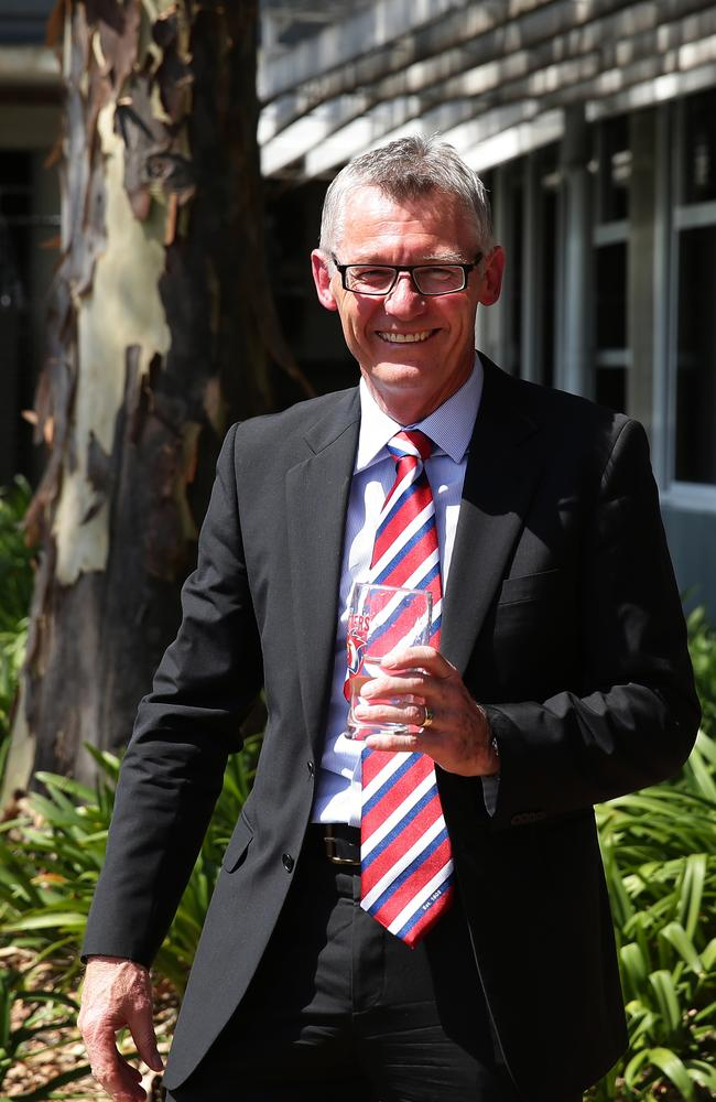 Roosters Chief Operating Officer Brian Canavan.