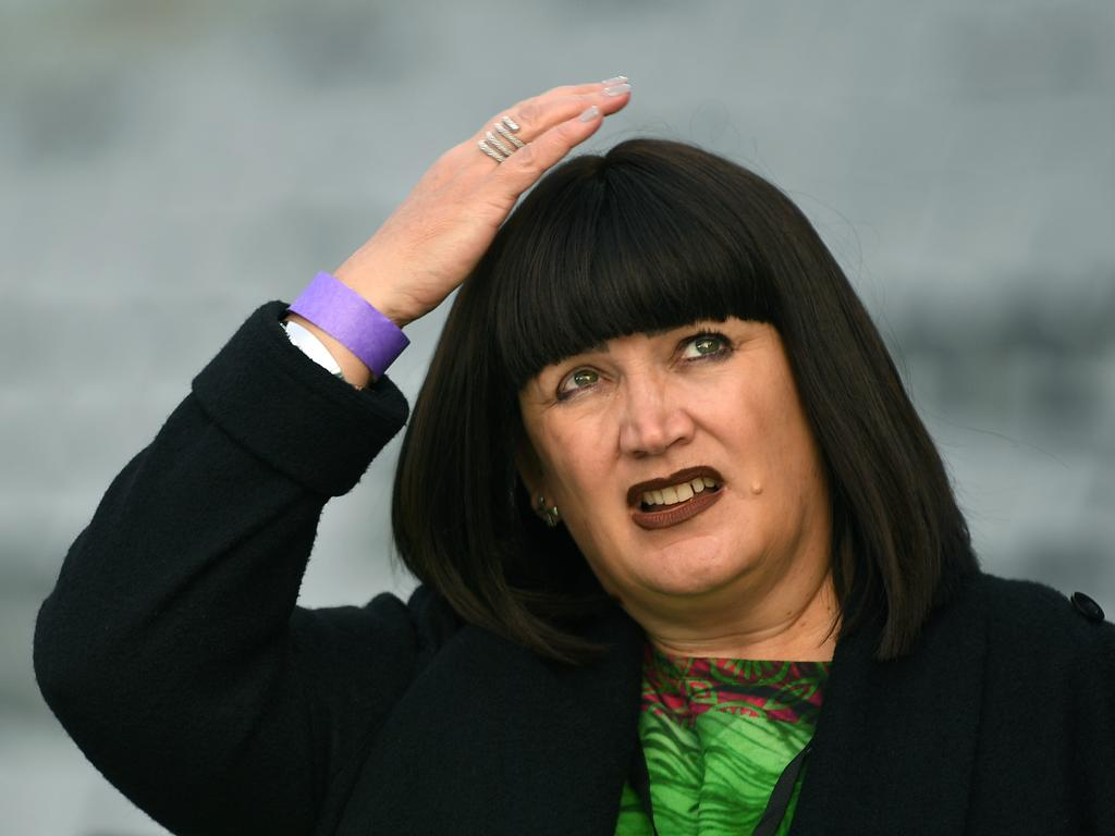 Rugby Australia chief executive Raelene Castle feeling like the sky is falling down.