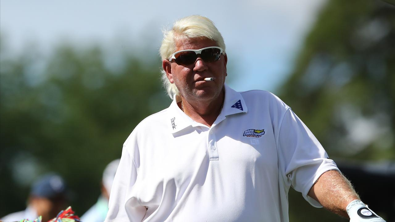 "John Daly insisted ""I'm not scared to die"" after revealing he has bladder cancer."