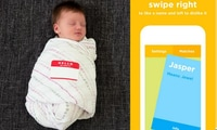 It's Tinder for baby names!
