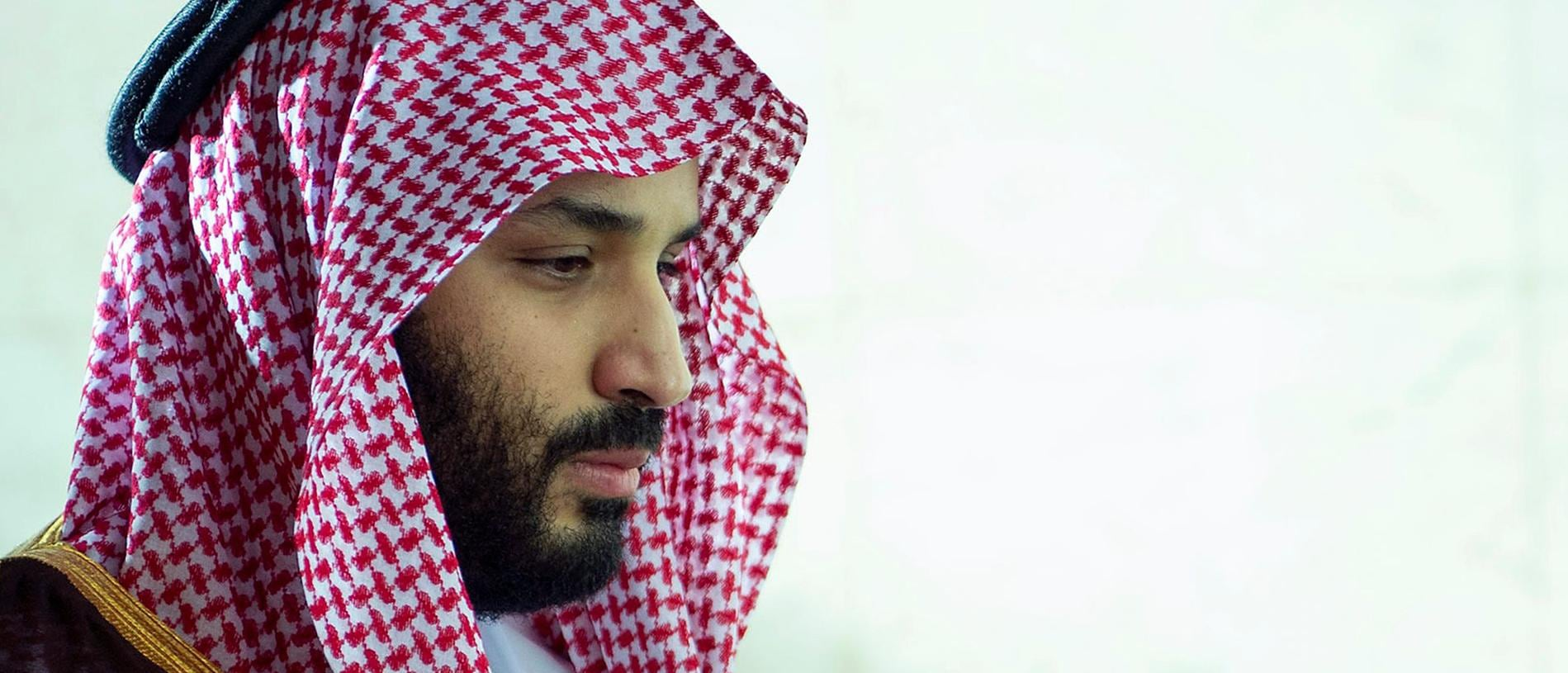 "A handout picture provided by the Saudi Royal Palace on February 12, 2019, shows Saudi Crown Prince Mohammed bin Salman praying inside the Kaaba (""The Cube""), Islam's holiest shrine, at the Grand Mosque in Saudi Arabia's holy city of Mecca, during his inspection of expansions to the site. (Photo by Bandar AL-JALOUD / Saudi Royal Palace / AFP) / RESTRICTED TO EDITORIAL USE - MANDATORY CREDIT ""AFP PHOTO / SAUDI ROYAL PALACE / BANDAR AL-JALOUD"" - NO MARKETING - NO ADVERTISING CAMPAIGNS - DISTRIBUTED AS A SERVICE TO CLIENTS"
