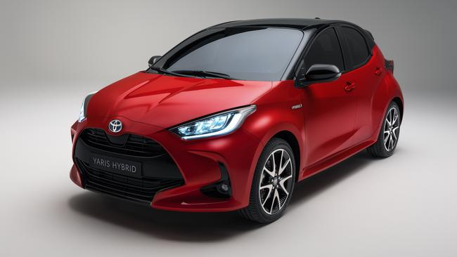 The Toyota Yaris will be the most fuel efficient conventional hybrid when it goes on sale in May.