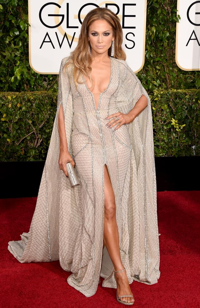 Sheer diva ... singer and actress Jennifer Lopez. Picture: Getty Images