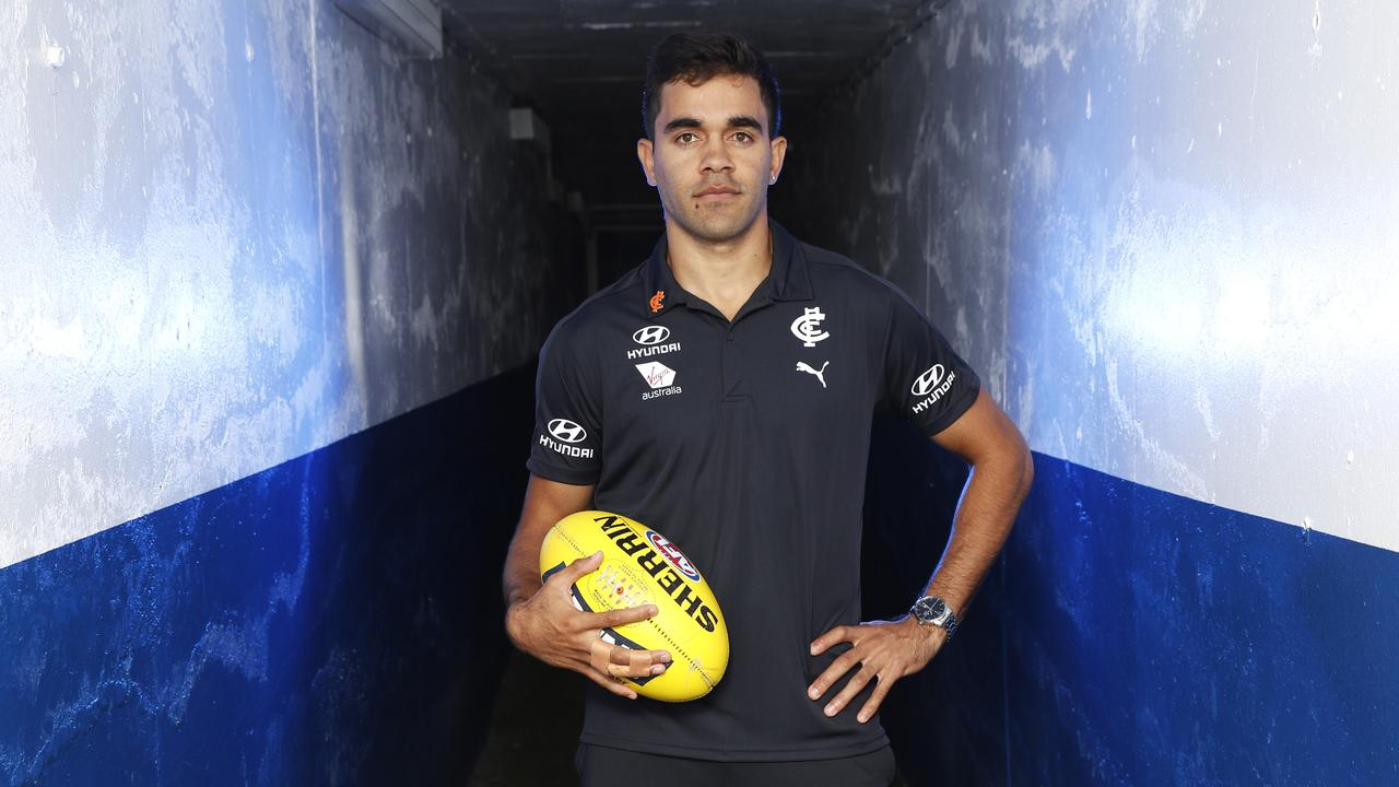 New recruit Jack Martin will be hoping for more success in Navy Blue