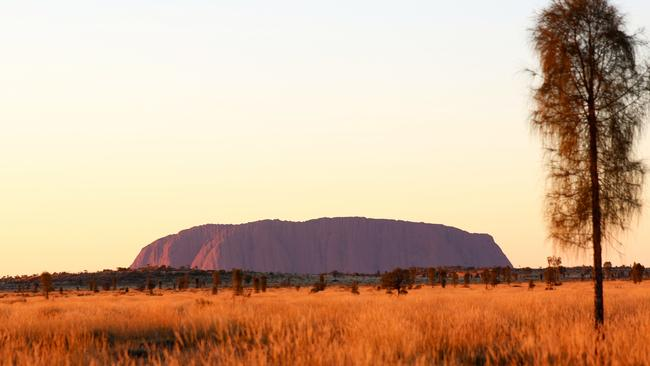 The landscape around Uluru feels like a foreign country Picture: Tourism Australia