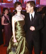 <p>Actor Hilary Swank & husband Chad Lowe</p>