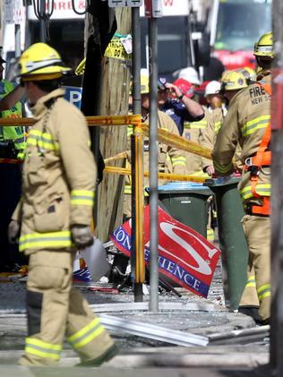 The blast devastated the community. Pic: John Grainger