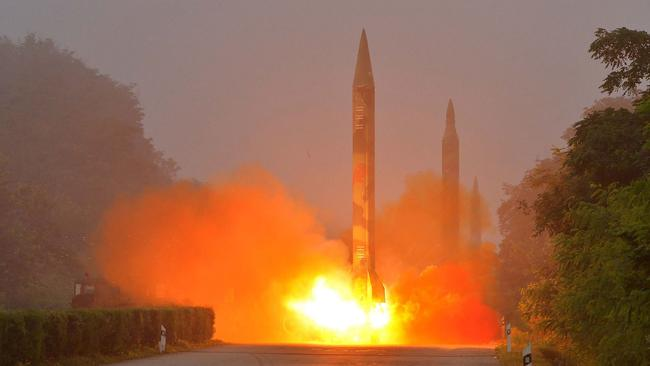 North Korea continues to test its nuclear capability, despite worldwide condemnation. Picture: KNS