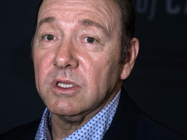 Kevin Spacey is the latest Hollywood star to be embroiled in sexual assault rumours. Picture: Nicholas Kamm/AFP