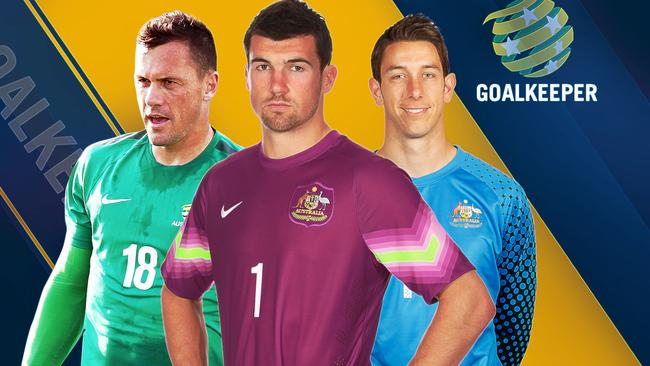 Danny Vukovic, Mat Ryan, Brad Jones.