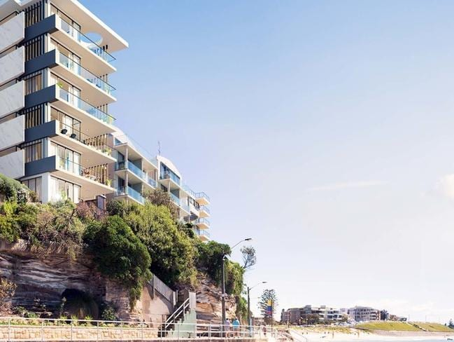 The 'Pinnacle' was sold off the plan for $5.7 million.
