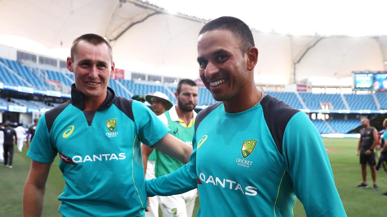 Usman Khawaja got a near perfect score in our player ratings.