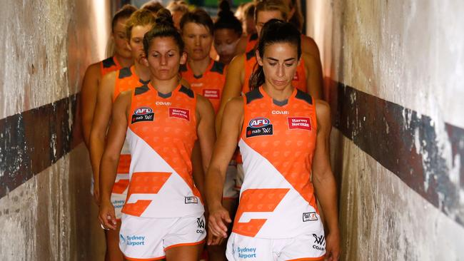 The future of the GWS AFLW team is bright as more girls take up the sport.