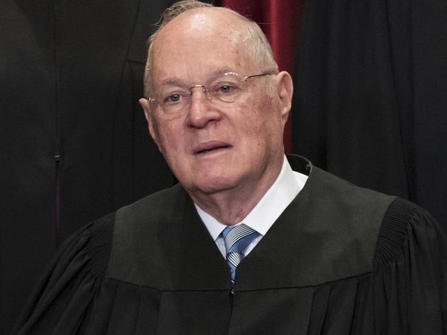 US Supreme Court Associate Justice Anthony M. Kennedy, 81, is retiring after more than 30 years on the court. Picture: AP