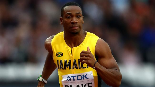 Yohan Blake at the