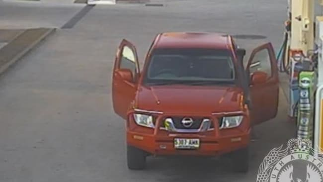 Police want to know more about the movements of this Nissan Navara, registration S307AMK, on December 11.