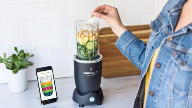 It's all about balance. Photo: Nutribullet