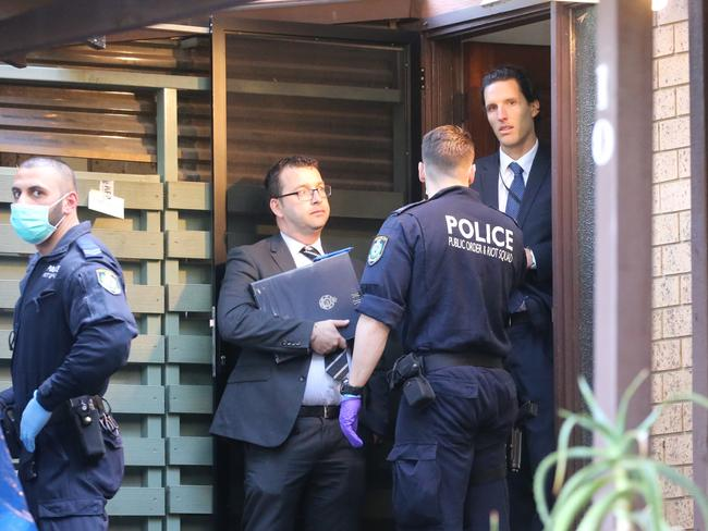 A combined National Police Operation has foiled an alleged terror plot in Sydney, with 3 arrested this morning. Picture: John Grainger
