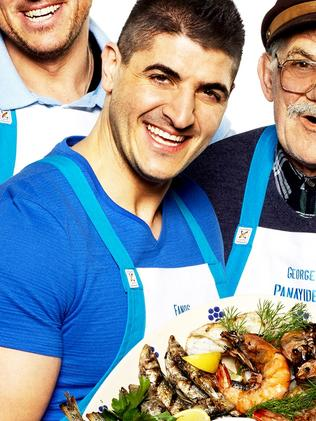 Mr Panayides in a promotional shot for the Family Food Fight show.