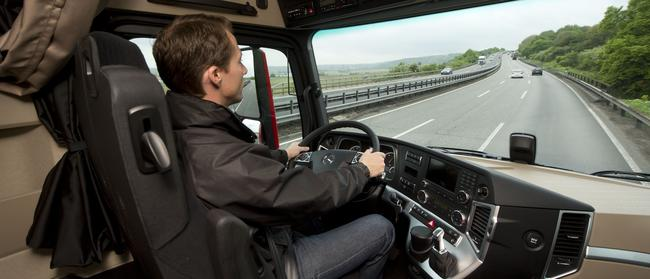 Mercedes Actros: Teams of drivers covered 40,000km-plus testing the sunvisor tech