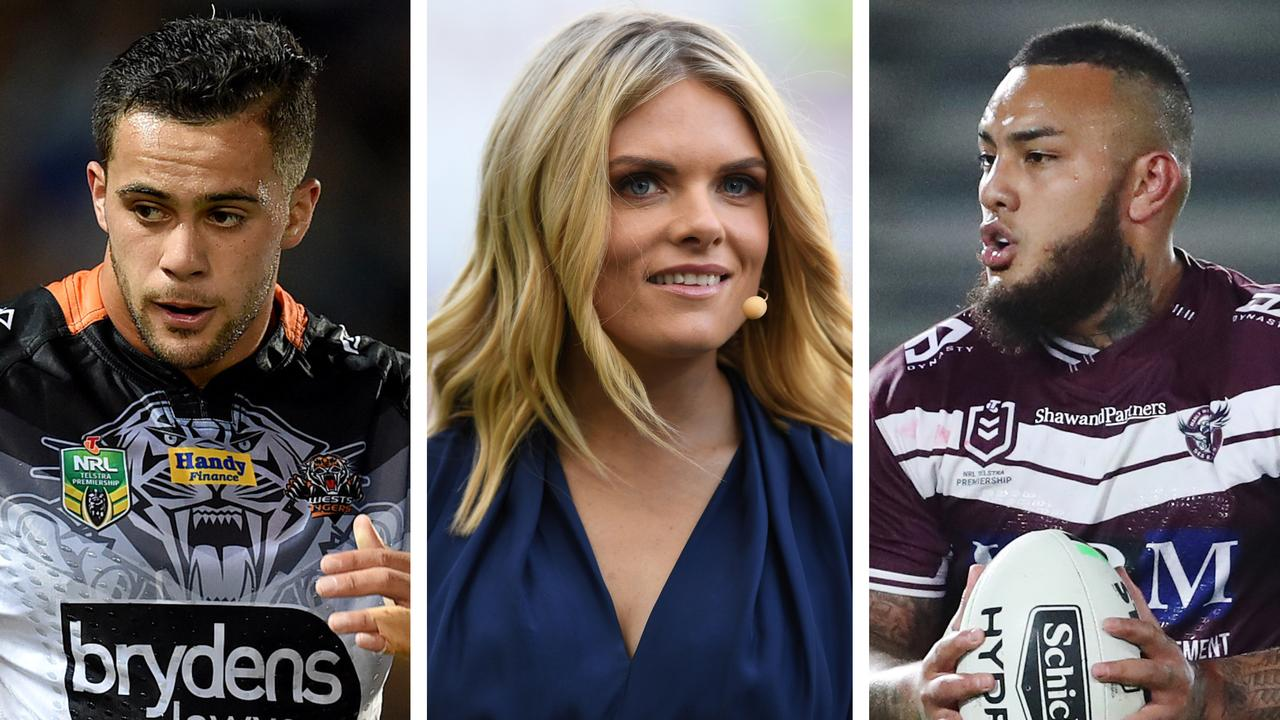 Josh Aloiai has come out in support of Erin Molan.