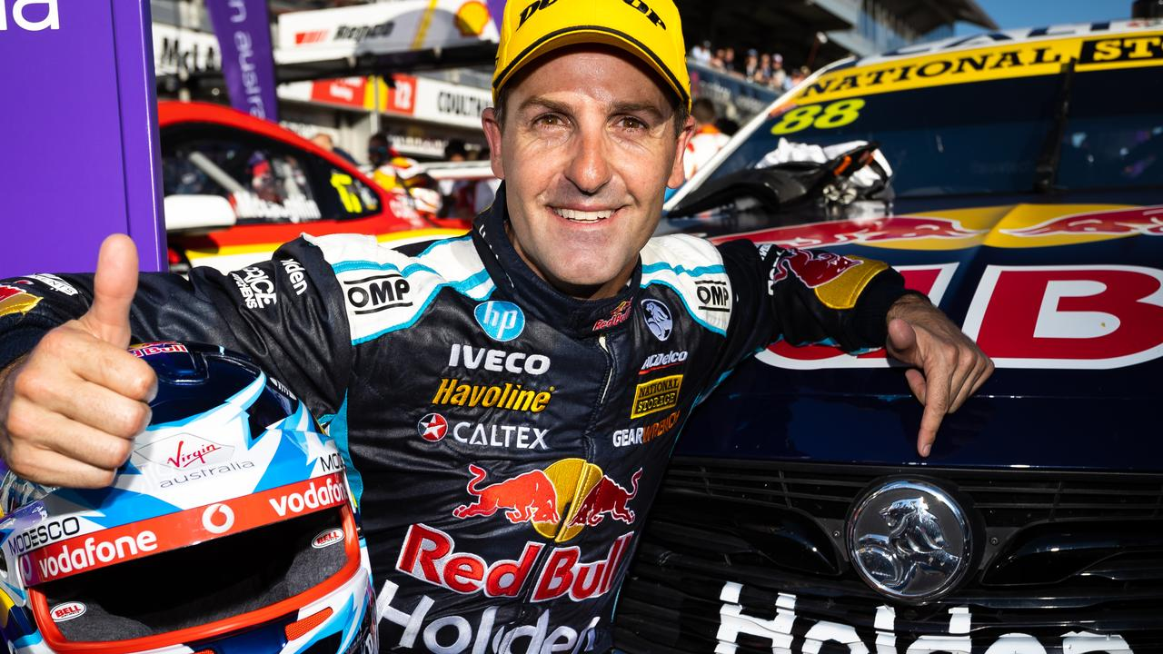 Jamie Whincup has concerns over tyre allocation.