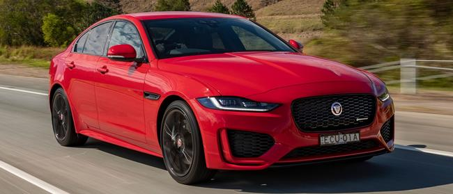 Jaguar XE: Starts at $72K … but the options can mount up