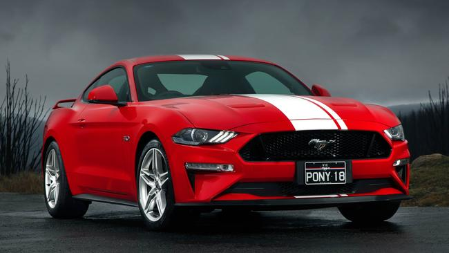 Ford is readying an electric SUV based on Mustang underpinnings. Picture: Supplied.