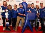 The Block. Reno Rumble blue team at the 2015 Logie Awards at Crown Casino. Picture: Julie Kiriacoudis