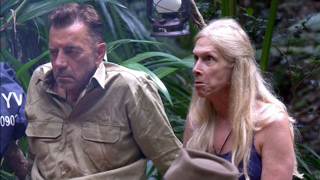 Lady Colin Campbell on 'I'm A Celebrity Get Me Out Of Here' Image: Splash