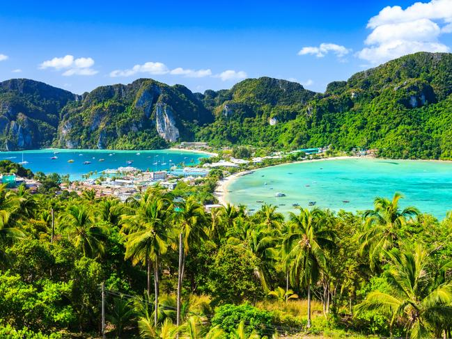 The mum had even forked out for a day trip to Thailand's Phi Phi islands for the family.