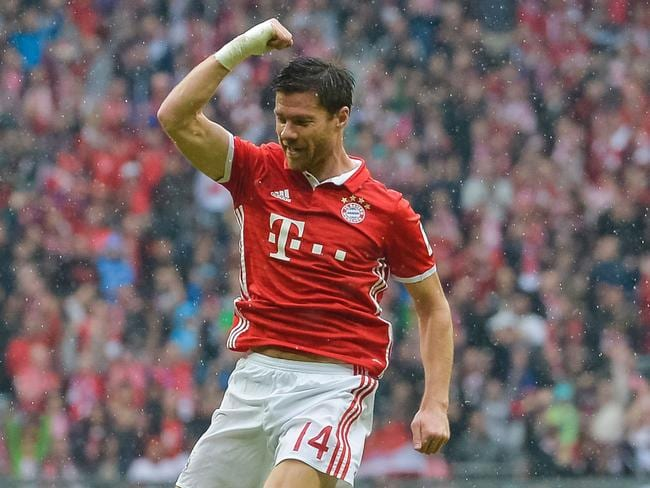 Bayern Munich's Spanish midfielder Xabi Alonso.