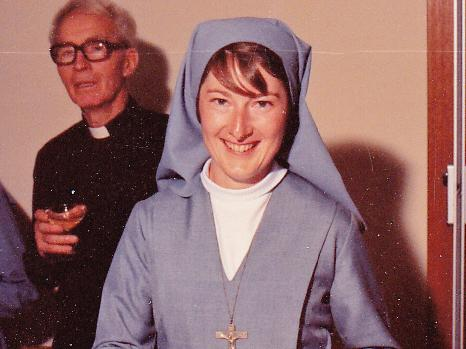 Margaret upon her entering the convent. Picture: Supplied