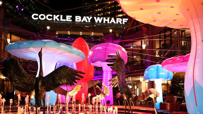 If you're yet to catch Vivid, these hotel deals may be your best bet during the light show's final week. Picture: Cameron Spencer/Getty Images.