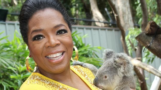 Oprah said she didn't get to spend enough time exploring Australia last time she was here. So she's coming back for more ... money.