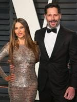 Sofia Vergara and Joe Manganiello attend the 2017 Vanity Fair Oscar Party on February 26, 2017 in Beverly Hills, California. Picture: AFP