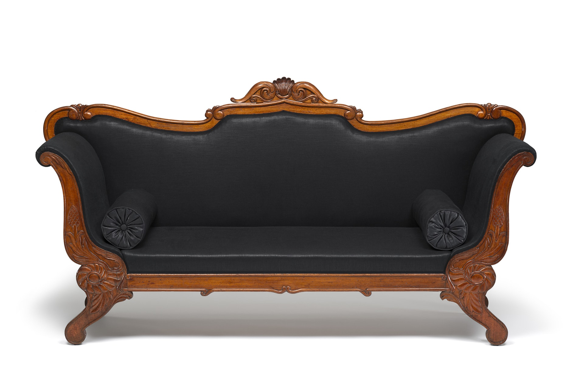 Image credit: Sofa, 1840s, Red Cedar (Toona ciliata), upholstery, (other materials) National Gallery of Victoria, Melbourne Gift of Michael and Traudl Moon, 1996.