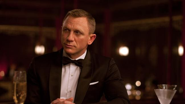 Daniel Craig exuding that Bond style in Skyfall. Picture: Francois Duhamel/Columbia Pictures