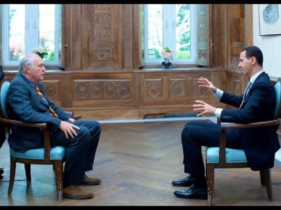 Assad: Chemical Attack was '100 per cent fabricated'