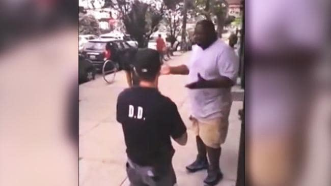 Eric Garner tragically choked to death by NYPD Officer