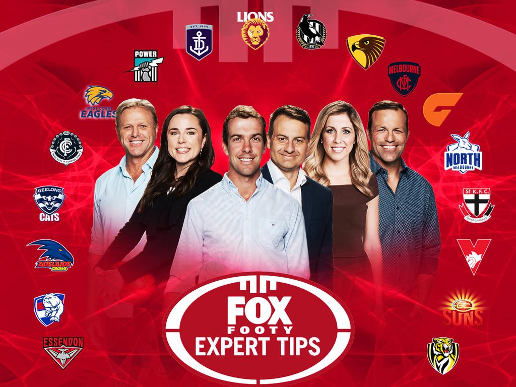 Fox Footy expert AFL tipsters for 2019.