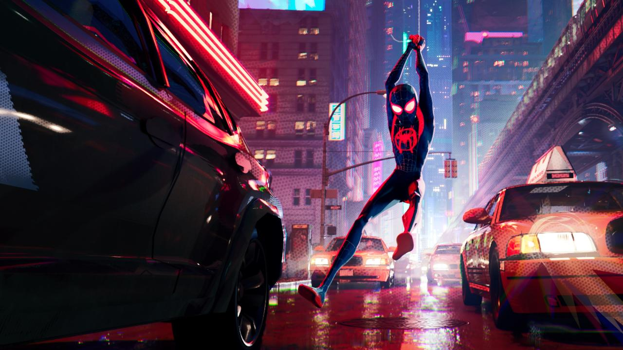 Watching Spider-Man (seen here in Spider-Man: Into the Spider-Verse) could be more effective in helping you get over your fears than actually seeing a spider. Picture: supplied