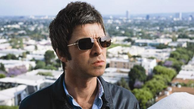 Promising ... Former Oasis guitarist Noel Gallagher's new album has the seal of approval from Johnny Marr.