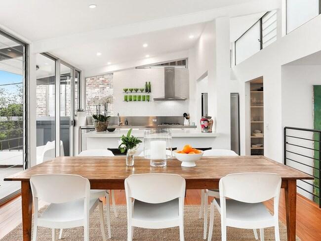 The home has stylish interiors.