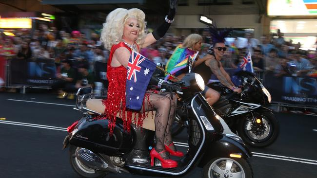 Australia is still not in the top tier of states when it comes to gay rights. Picture: Adam Taylor