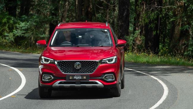 The MG HS is priced from $30,990 drive-away.