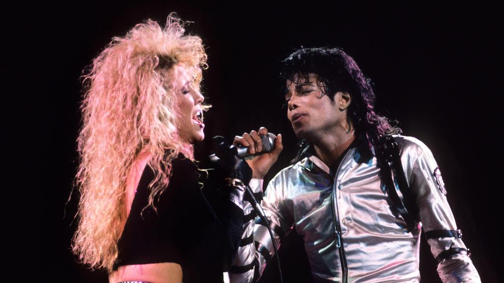 Sheryl Crow and Michael Jackson perform during the Bad tour in 1987.