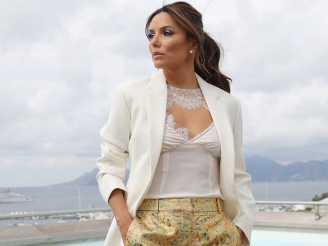 Actress Eva Longoria attends Kering Talks Women In Motion in Cannes where she spoke against the US's anti-abortion laws. Picture: Vittorio Zunino Celotto/Getty Images for Kering
